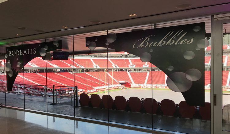End of year holiday party at Levis Stadium, Santa Clara, CA.