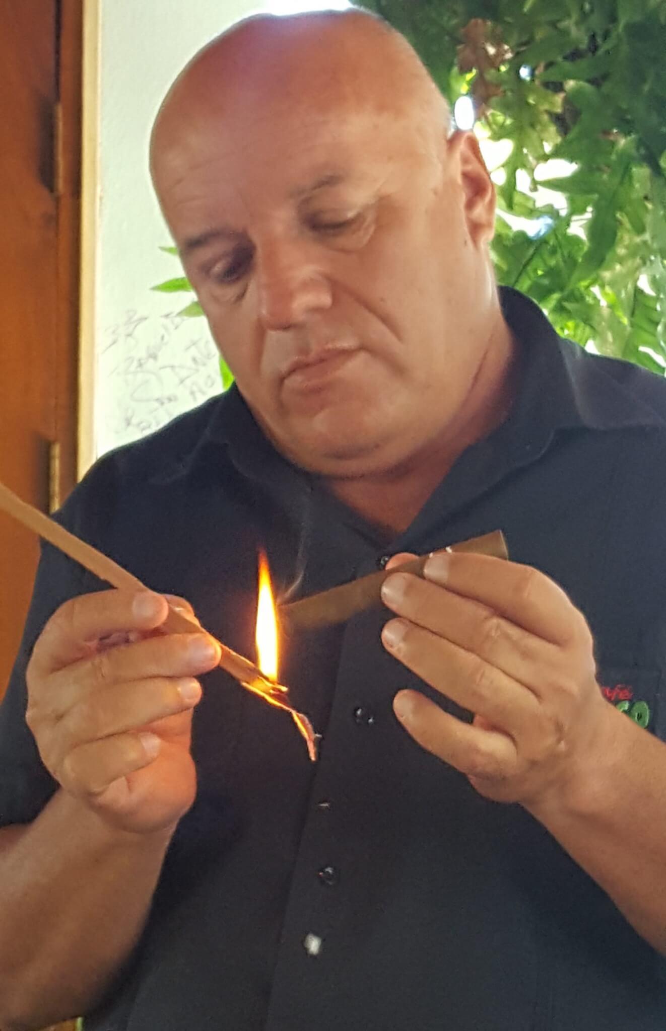 The art of Cuban cigars.