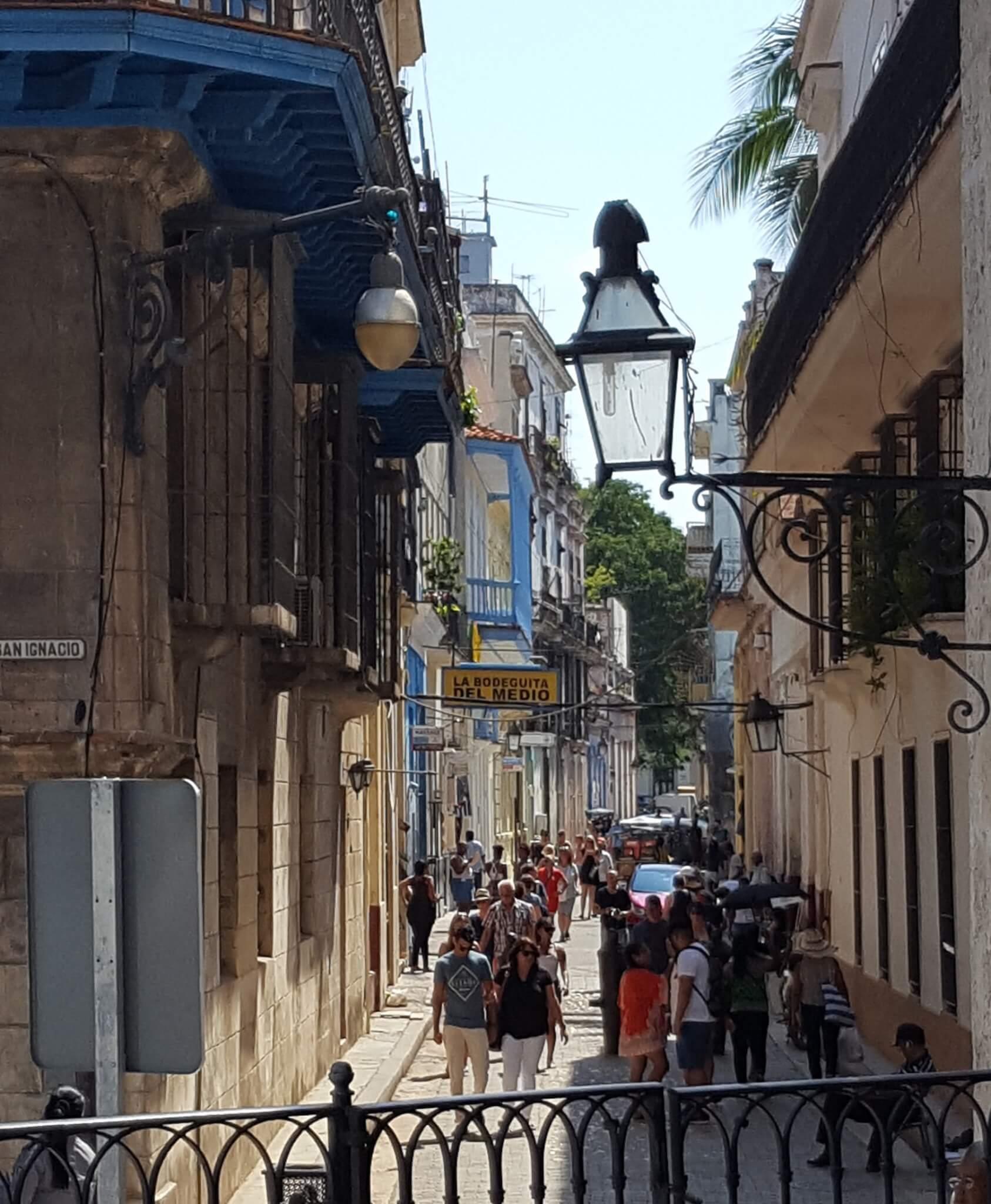 Side street, Old Havana.