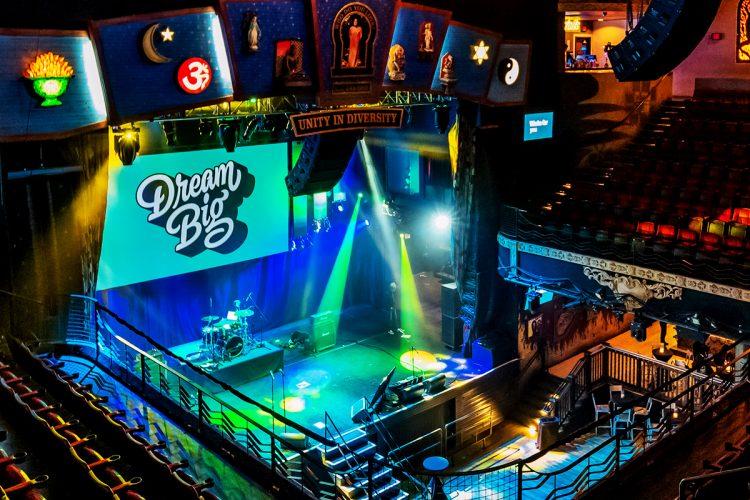 Dream Big stage